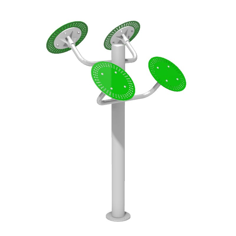 Tai Chi Wheels Outdoor Gym Fitness Station