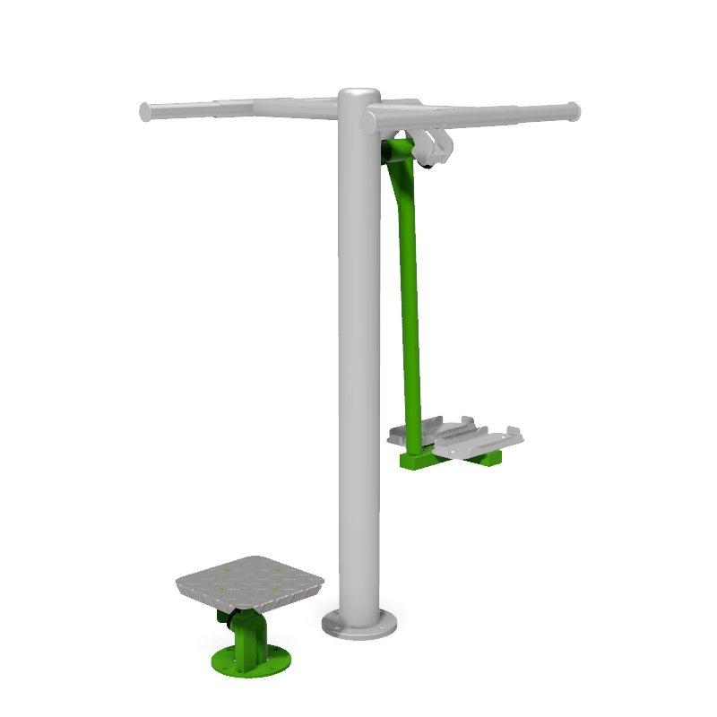 Twister Ski Trainer Outdoor Gym Fitness Station1