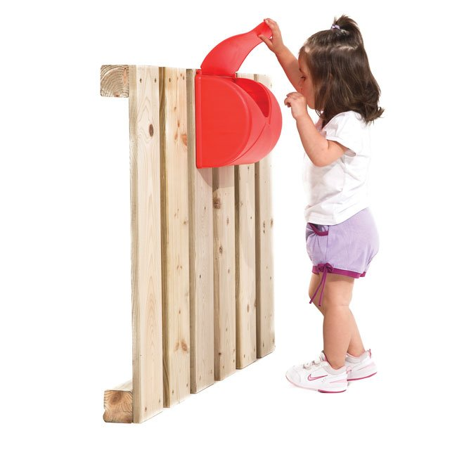 Toy Letter Box For Use On Children's Garden Play Structures or Wendy House