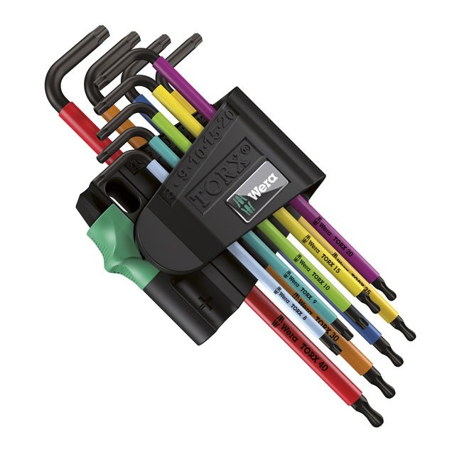 Pin Torx Key Set (set of 9) - T16