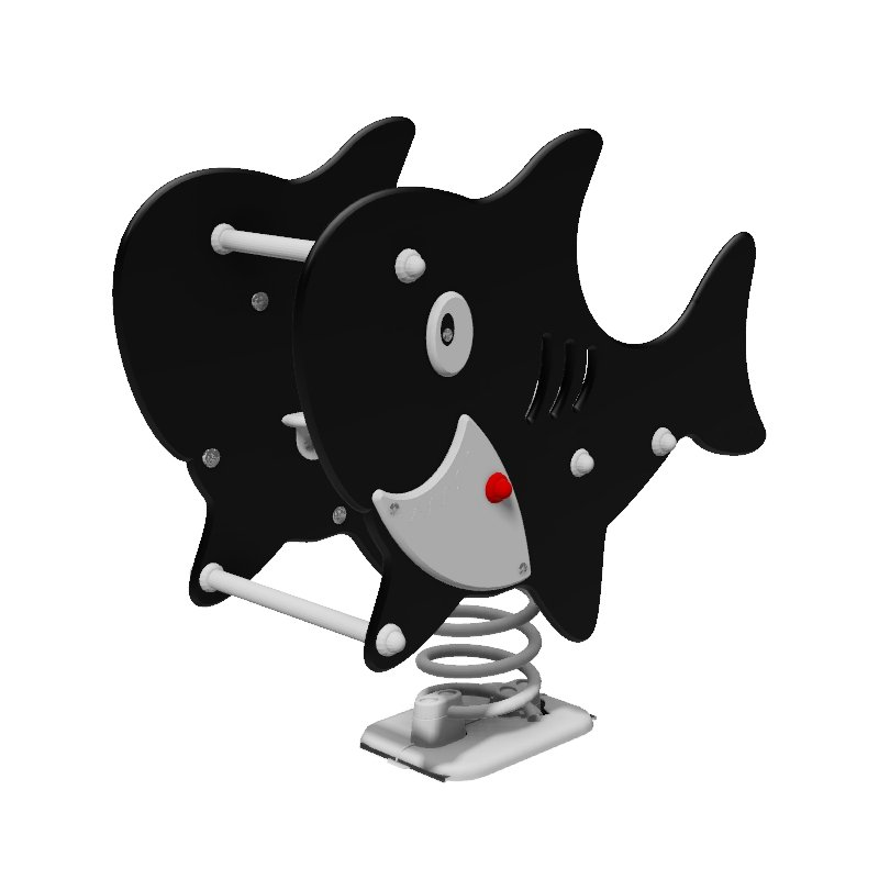 Shark Sit In Spring Rocker Mobile