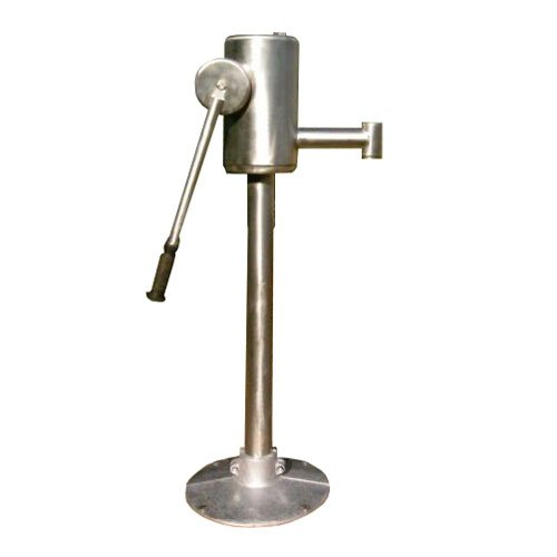 Stainless Steel Play Water Pump For Childrens Playgrounds