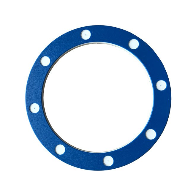 Large Blue Ships Porthole Including Fixings For Mounting On Any Play Structure