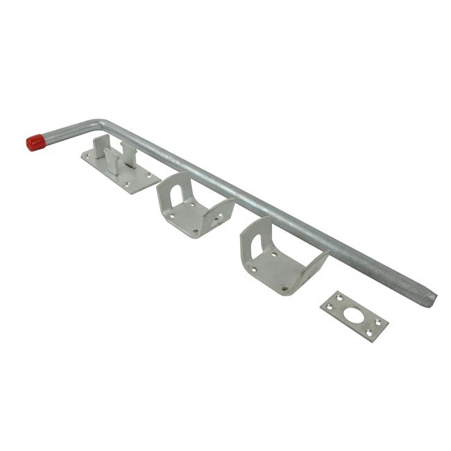 Wooden Gate Traditional Gate Drop Bolt Bright Zinc Plated.