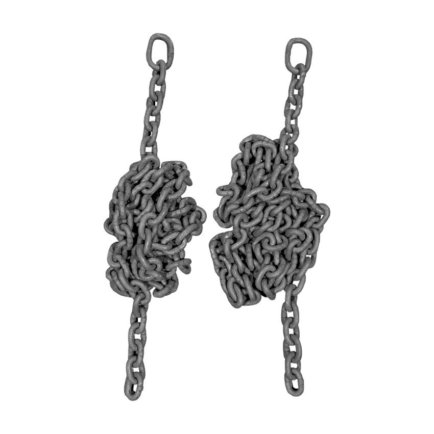 Belt Seat Swing  / Group Swing Chains Manufactured 8mm Short Pattern Swing Chain With Connecting Links