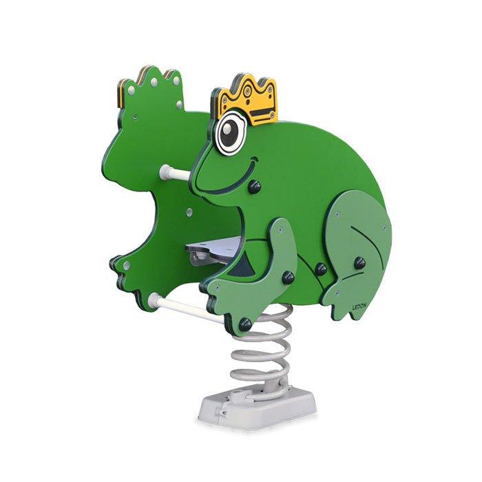 Frog Prince Spring Rocker Mobile