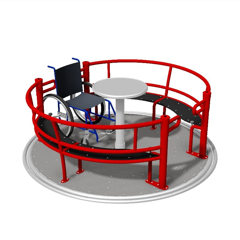 Inclusive DDA Wheelchair Roundabout