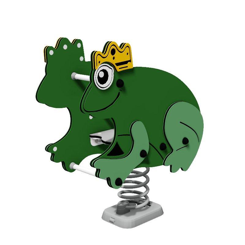 Frog Prince Spring Rocker