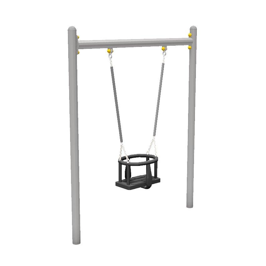 Mini Toddler Steel Swing