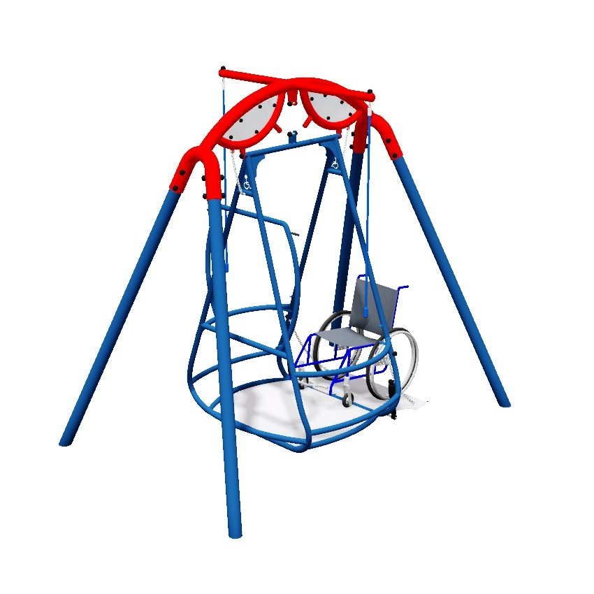 Wheelchair Inclusive Swing