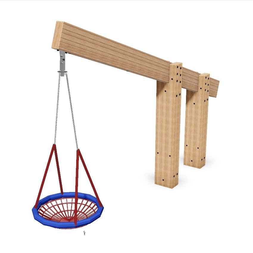 Cantilevered Group Swing