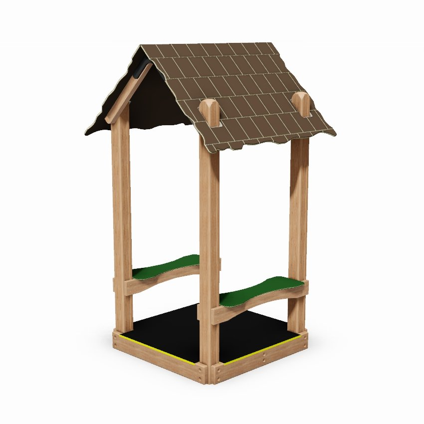 Mini Playground Seated Shelter with Floor