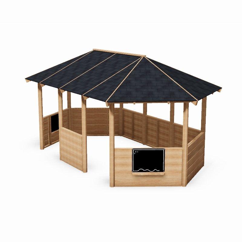 Rectangular Outdoor Classroom