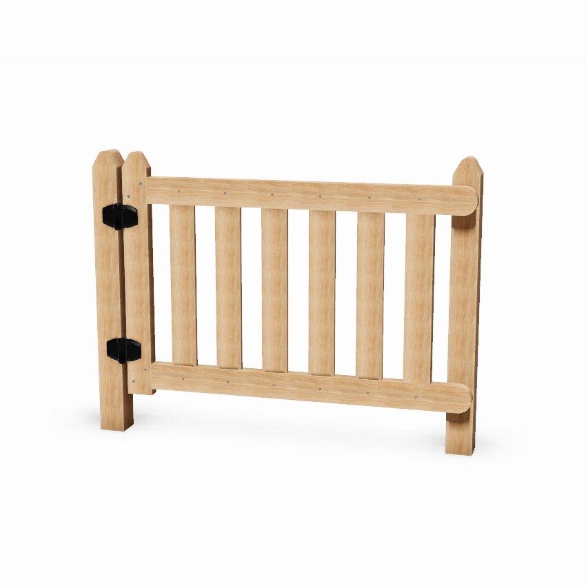 Wooden Self Closing Playground Gate