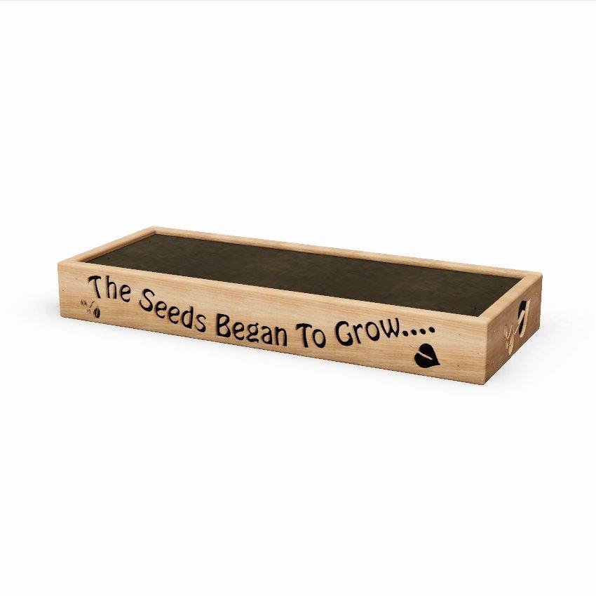 Grow Box Wooden Garden Planter