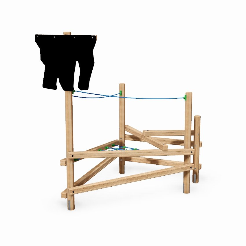 Crows Nest Wooden Climber
