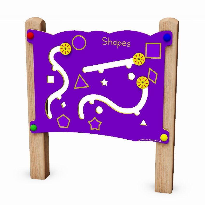 Shapes Activity Play Panel