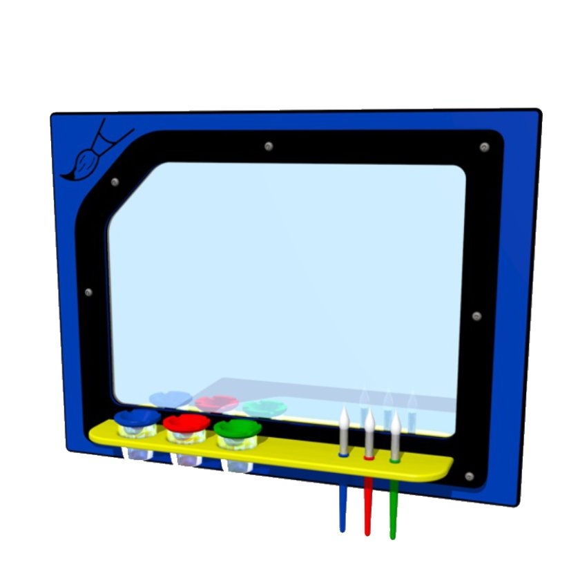 Paint Station Activity Panel