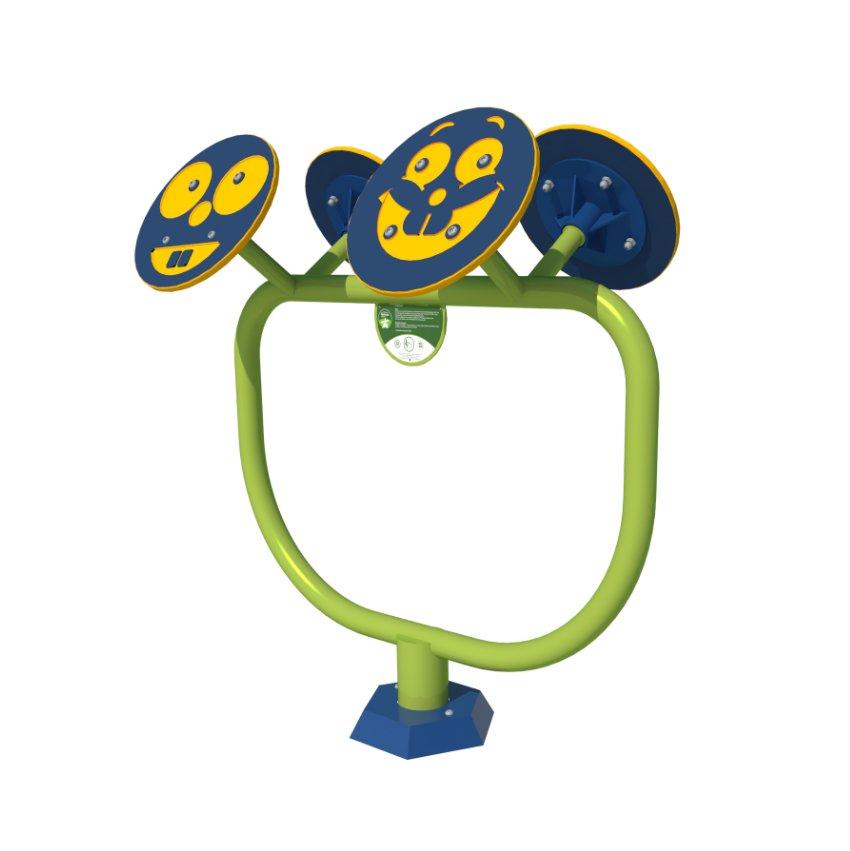 Mini Gym Small Wheels