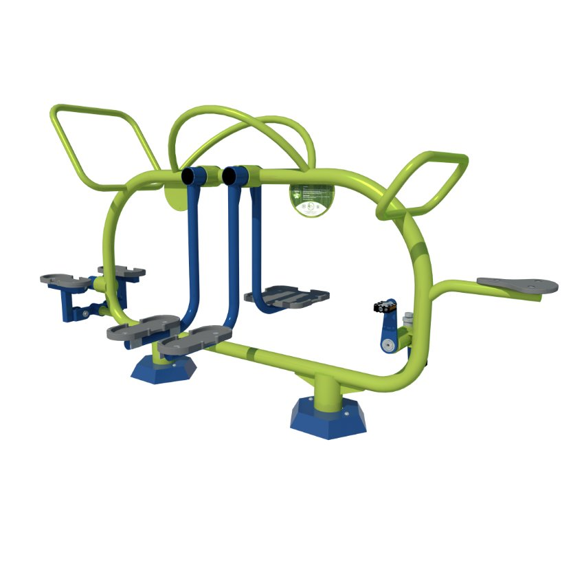 Mini Gym Combined Fitness Station