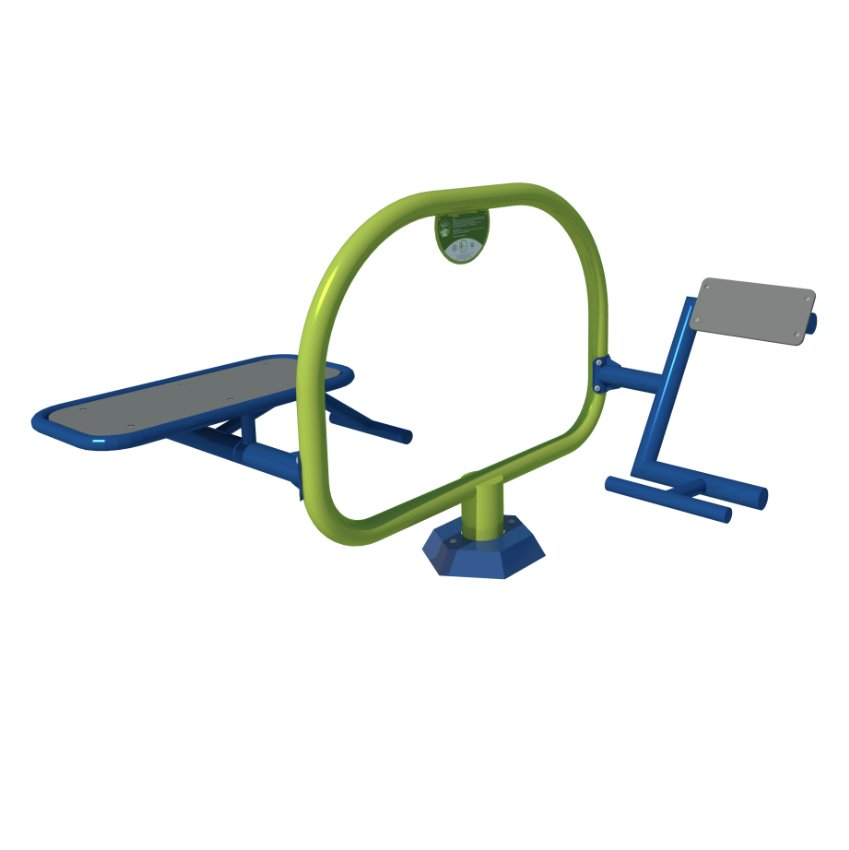 Mini Gym Bench and Back Trainer