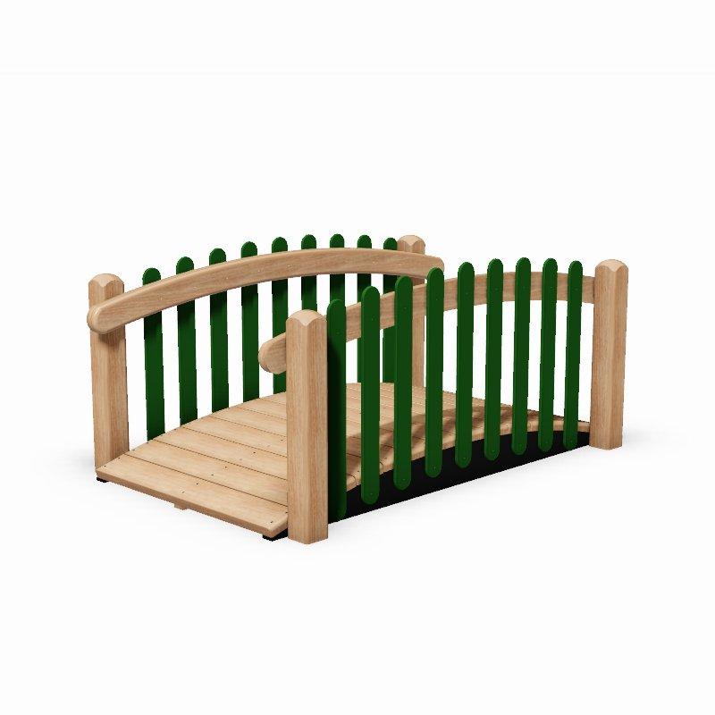 Wooden Toddler Bridge