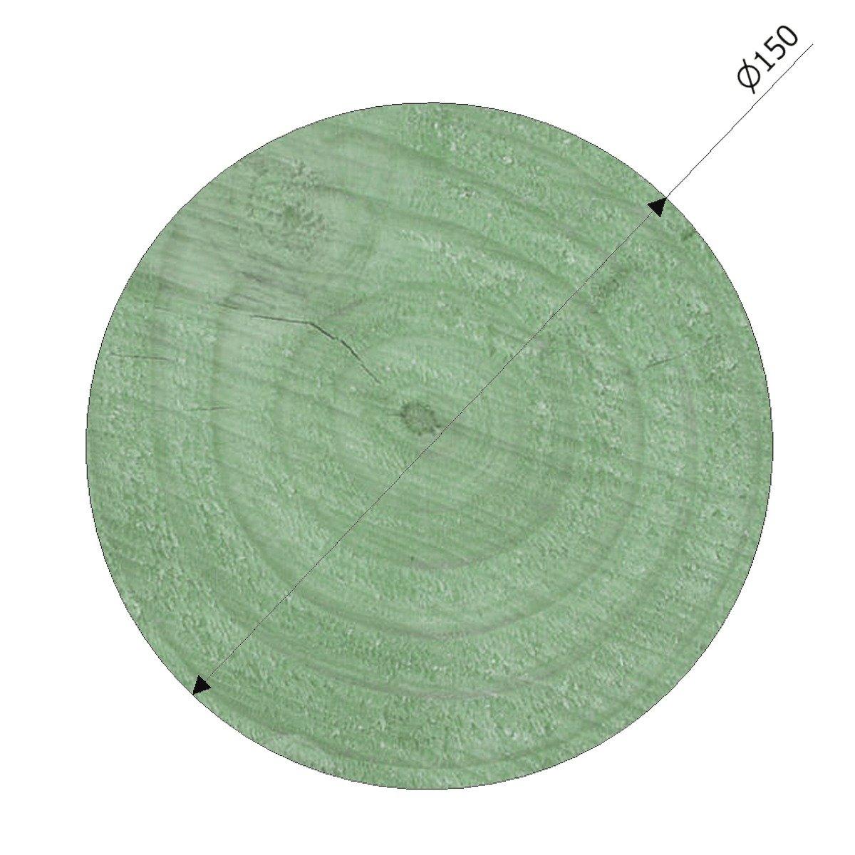 150mm Diameter Pressure Treated Radiata Pine Poles Suitable For Building And Maintaining Playground Equipment