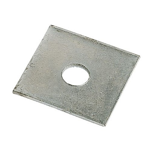 M12 Square Plate Washer Zinc Plated 50mm x 50mm