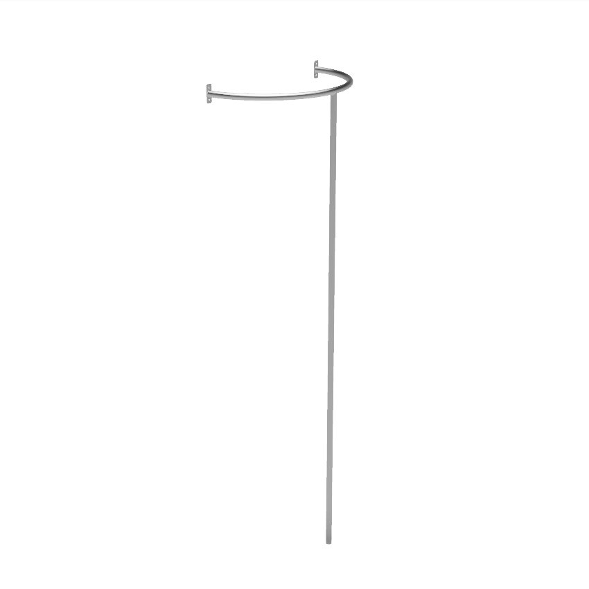 Stainless Steel Fireman's Pole for Children's Play Tower