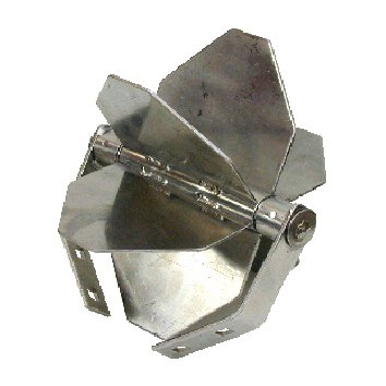 Stainless Steel Play Wheel For Use With Either Sand Or Water Complete With Mounting Frame