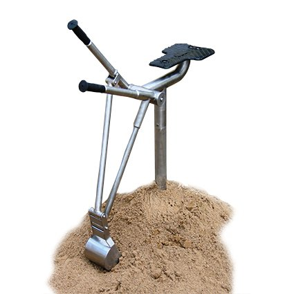 Sand Digger With Lever Controlled Digging Bucket And Realistic Operators Seat All Manufactured In Stainless Steel