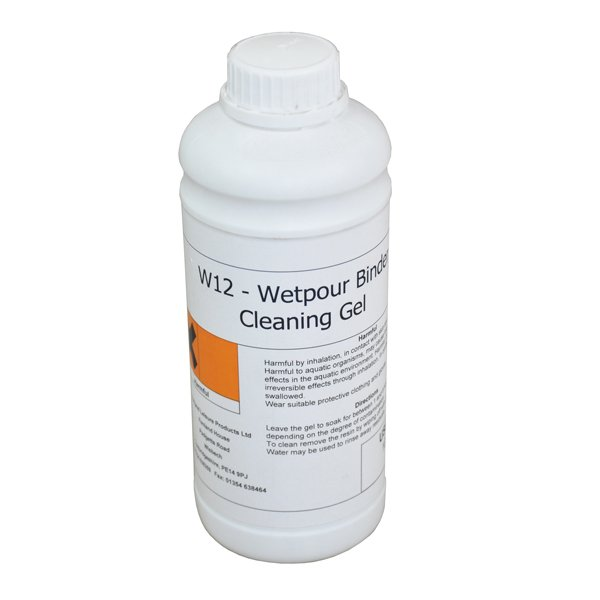 Cleaning Gel To Remove Wetpour Resin Or Binder