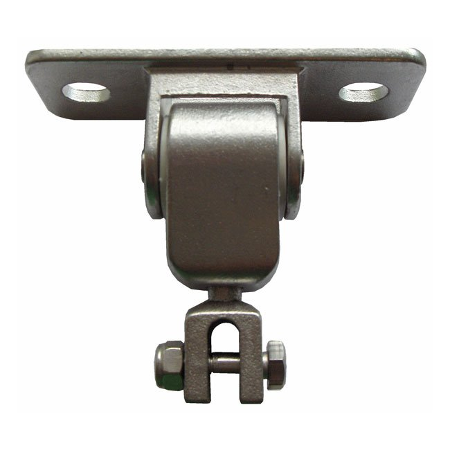 Swing Hanger Bolt On Style With Seal Bearing And Bolted Chain Clevis Connection All Manufactured In Cast Stainless Steel
