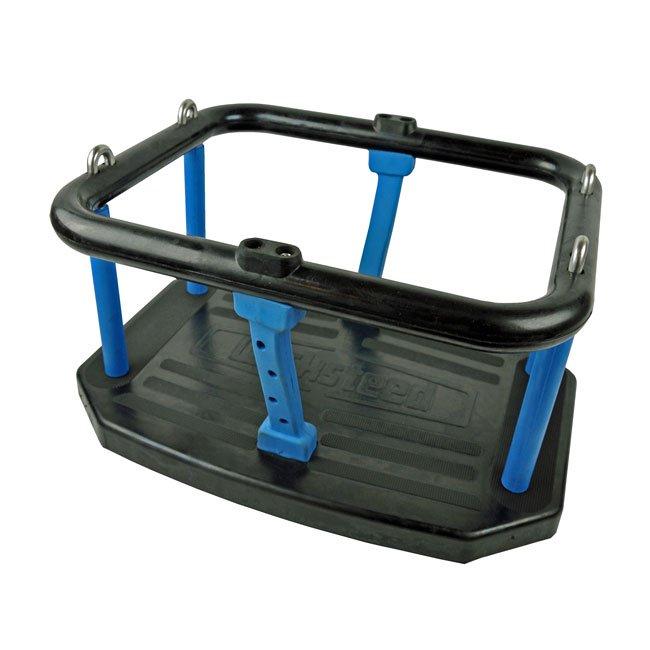 Wicksteed Single Tier Black Rubber Cradle Seat Tested To EN1176