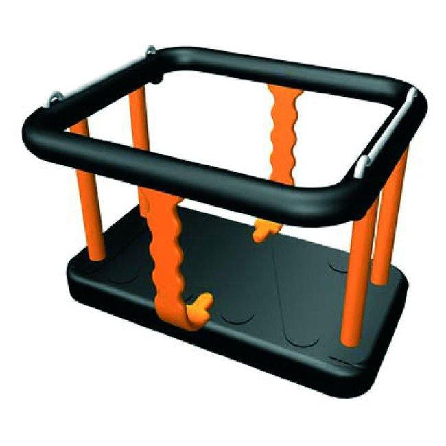 Sutcliffe SRE505 Toddler Cradle Seat In Black And Orange Rubber EN1176 Tested