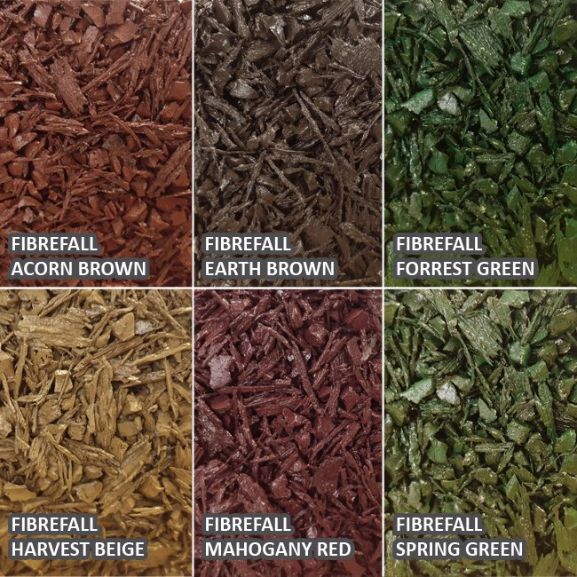 Rubber Mulch In Various Colours For Resin Bound Playground Surfacing