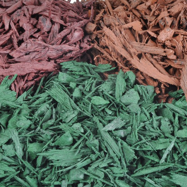Colour Coated Rubber Mulch For Playground Surfacing