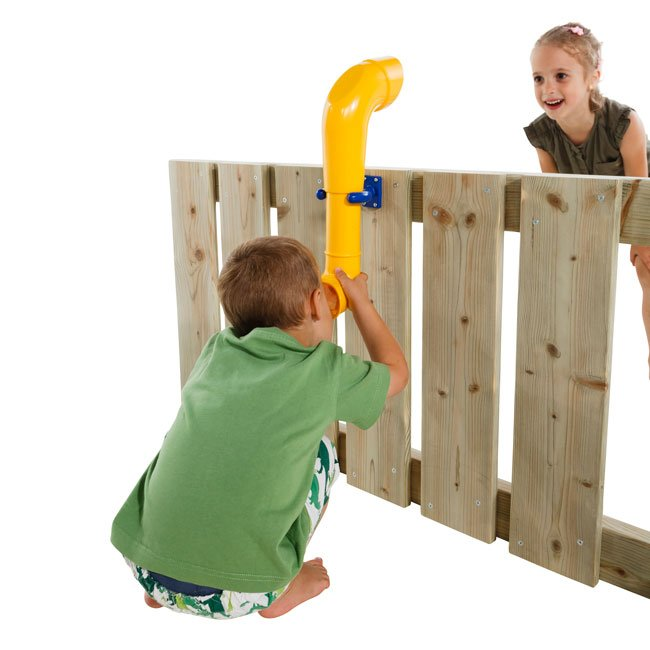 Toy Periscope Including Fixings For Mounting On Any Garden Play Structure Or Wooden Fence