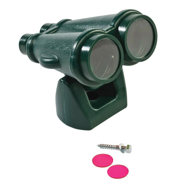 Children's Play Binoculars Including Fixings For Mounting On Any Garden Play Structure