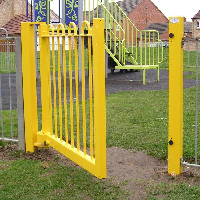 Easygate Self Closing Pedestrian Playground Gate.