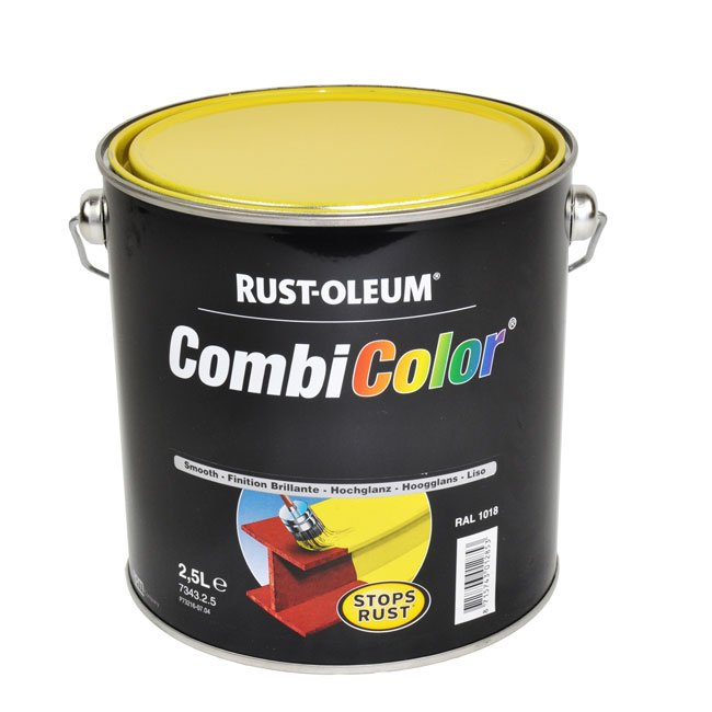 Bright Coloured Steel Gloss Paint Suitable for Renovating Steel Play Equipment