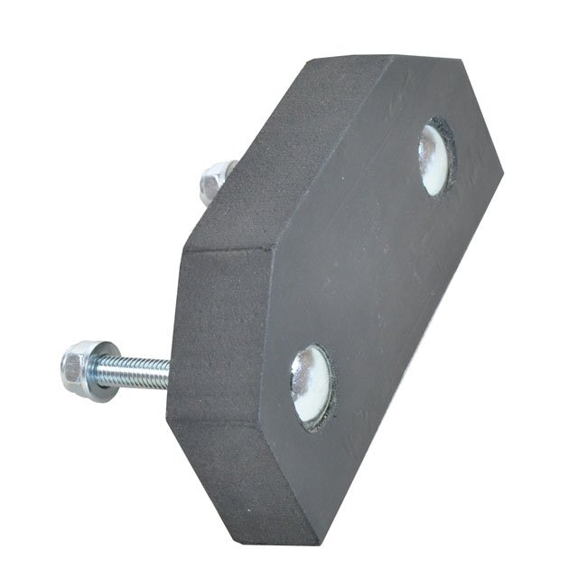 Rubber Gate Buffer With Fixing Bolts Suitable For Playground Pedestrian Gates
