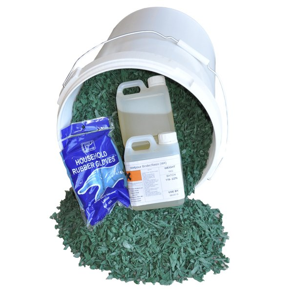 Rubber Mulch Playground Surfacing Repair Kit In Various Colours