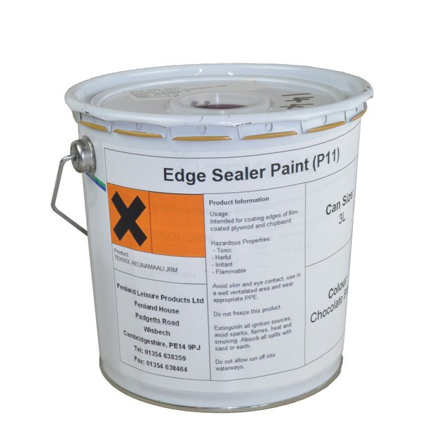 Flexible Plywood Edge Sealer Paint  Suitable For Sealing Rhino Board, Hexadeck And All Plywood Panels