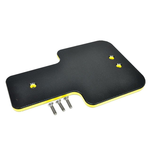 Replacement Seat Manufactured From HDPE To Suit Wicksteed Glow Worm And Sidewinder Seesaws