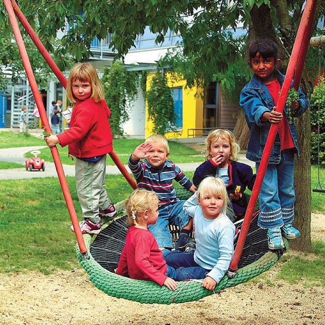 Huck Original Birds Nest Children's Two Point Suspension Group Swing Seat