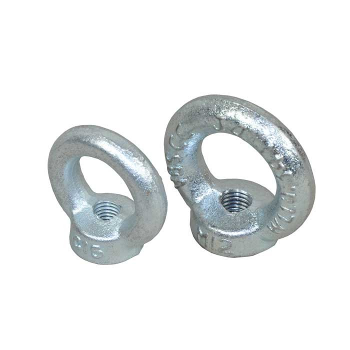 Zinc Plated Forged Playground Eyenuts Available In M8, M10 And M12 Diameters