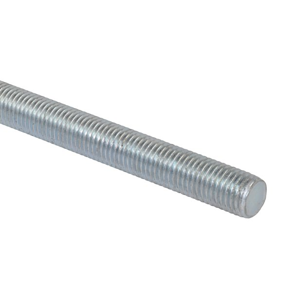 Metal Studding (Threaded Rod) With Zinc Plated Finish In 1 Metre Lenghts