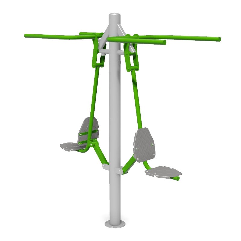 Double Pull Down Outdoor Gym Fitness Station