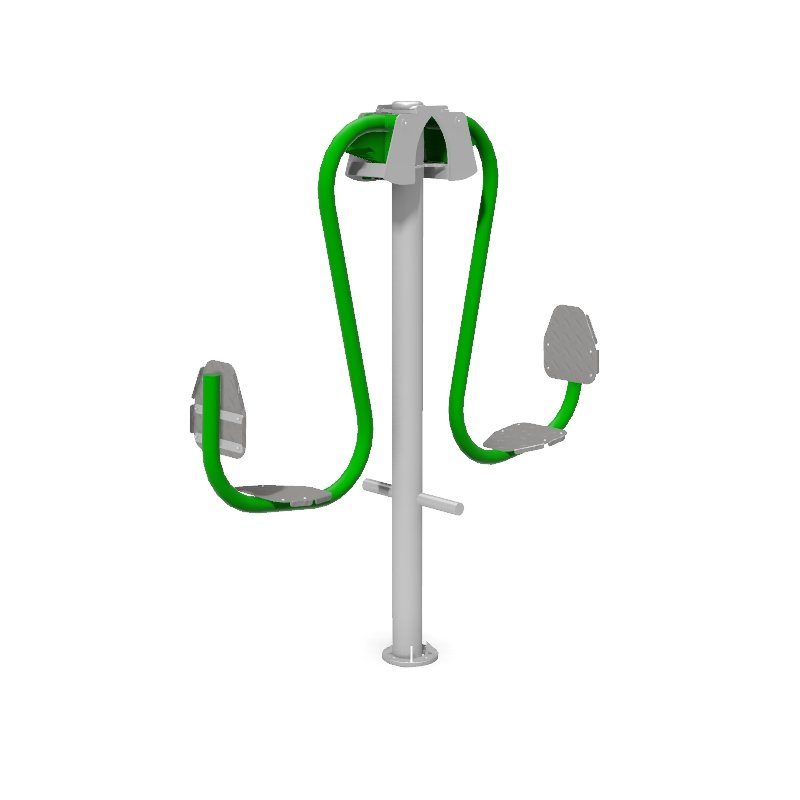 Double Leg Press Outdoor Gym Fitness Station